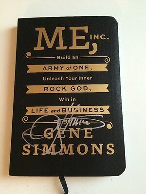 Kiss Signed Me, Inc. Book Autograph Gene Simmons Stanley Frehley