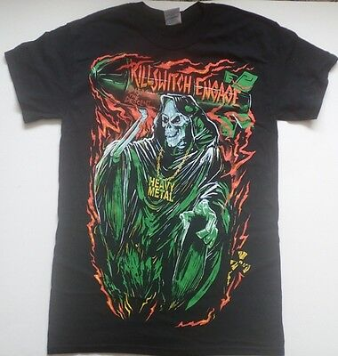 Killswitch Engage tour t-shirt in black - Size S