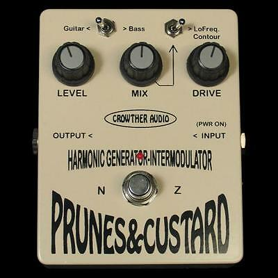 Crowther Audio Prunes & Custard Guitar Effect Pedal