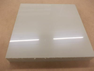 150 X 150 X 20Mm Beige Polypropylene  Panel Engineering Material Sheet Plate New