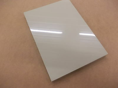 297 X 210 X 20Mm Beige Polypropylene  Panel Engineering Material Sheet Plate New