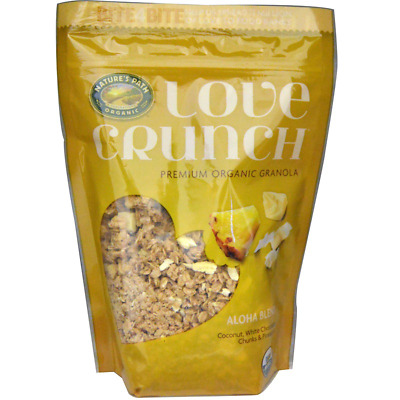 New Nature's Path Love Crunch Premium Organic Granola Daily Healthy Food Cereals