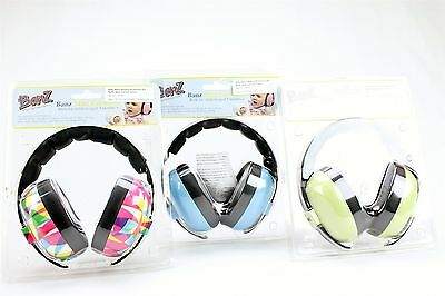 Baby Banz Hearing Protection Ear Muffs 3 months+ New Various Colors