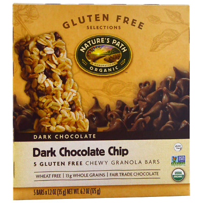 New Nature's Path Chewy Granola Bars Wheat Free Gluten Free Selections Food Care