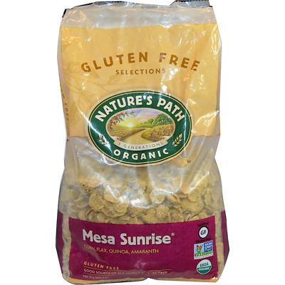 New Nature's Path Organic Mesa Sunrise Gluten Wheat Free Cereal Vegan Daily Food