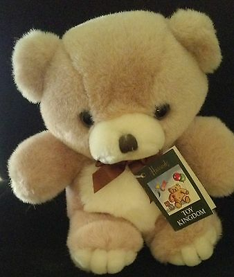"Harrods Toy Kingdom Knightsbridge Plush 9"" Teddy Bear"