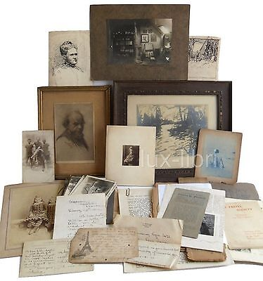 American expatriate artist Charles Fromuth 1889-1930 archive letters photos art