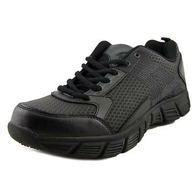 Dickies Avalon Women  Round Toe Leather Black Work Shoe