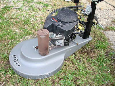"Propane Burnisher, Buffer, Pbu By Advance, 27"", Fs481V Engine, Used"
