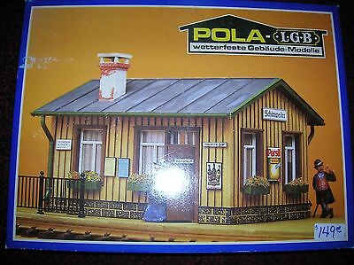 POLA / LGB #902 Station Kit new boxed G Scale lot # 9777