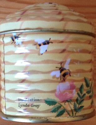 1980's IAN LOGAN DESIGN BEEHIVE DECORATIVE TIN