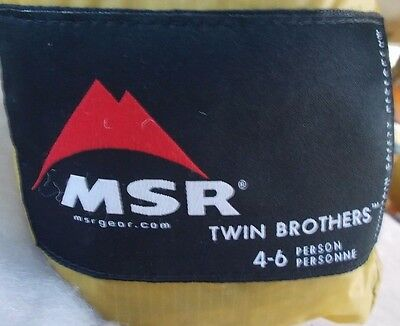 Msr Twin Brothers 6-Person Tarp Shelter