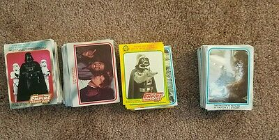 Canada Star Wars ESB series 1 & 2 Opee Chee O-Pee Chee Complete sets 1980 Rare