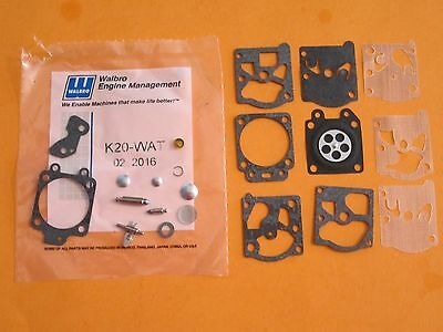 GENUINE  Walbro Carb Repair kit K20-WAT fits  WA & WT