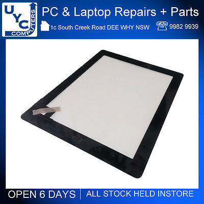 Brand New Front Glass Digitizer Screen Replacement for Apple iPad 2 Black A1395