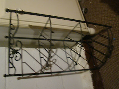 Longaberger Wrought Iron  Shelf Corner Stand