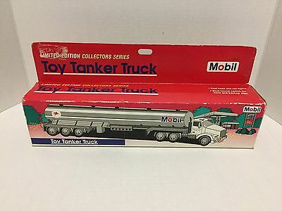 Vintage Mobil 1993 Toy Tanker Limited Edition Collector Series NIB