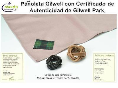 LOTS 2 Genuine Gilwell Scarf - Scout Gilwell -  WoodBadge Neckerchief