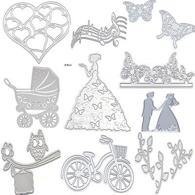 Metal Cutting Dies Stencil Scrapbook Card Album Paper Embossing Craft Decor DIY