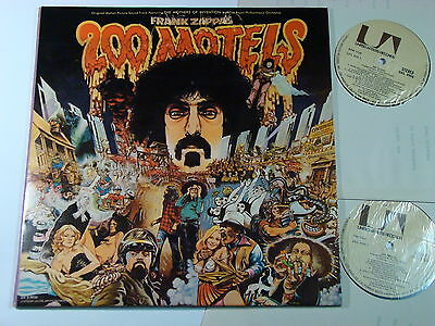 Frank Zappa 200 Motels Very Rare Original India 2Lp 1971 Great Copy!! Ex/ex+/ex+