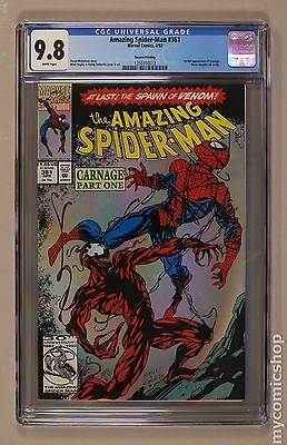 Amazing Spider-Man (1963 1st Series) #361B CGC 9.8 (1350310013)