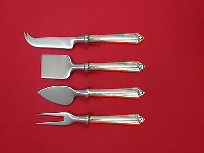 Plymouth by Gorham Sterling Silver Cheese Serving Set 4 Piece HHWS  Custom