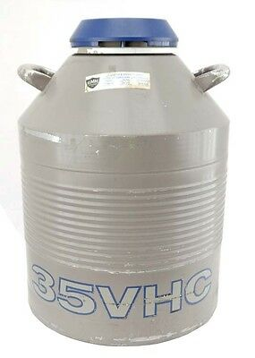 Taylor Wharton 35VHC Laboratory Liquid Nitrogen Cryogenic Chamber Container