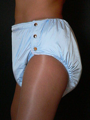 Adult Thick Spreading diaper Rubber with snaps Windelhose Gummi Hose