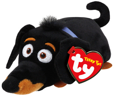Ty Teeny Tys The Secret Life of Pets Buddy New w/ Heart Tags MWMT's Stackable