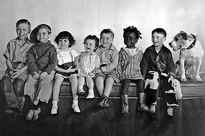 New 5x7 Photo: Our Gang, The Little Rascals - Alfalfa, Spanky, Darla & others