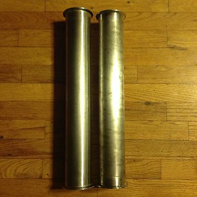 """Used 3"""" Tri-Clover Type Sanitary Stainless Steel Pipe"""