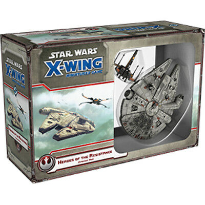Star Wars X-Wing Heroes of the Resistance