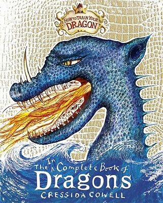 Incomplete Book of Dragons (How To Train Your Dragon) (Hardcover), Cowell, Cres.