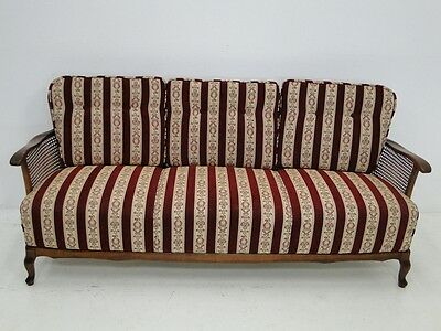 4454-Chippendale Sofa-Couch-Chippendale-Polsterbank-Bank-Sitzbank-3er Bank-Couch