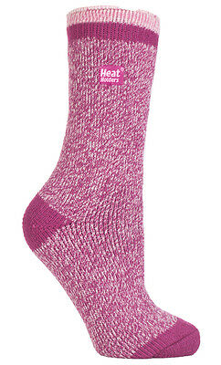 Thermal Twist Marl Fleck Striped Heat Holders Socks UK 4-8, EUR 37-42 Buttermere