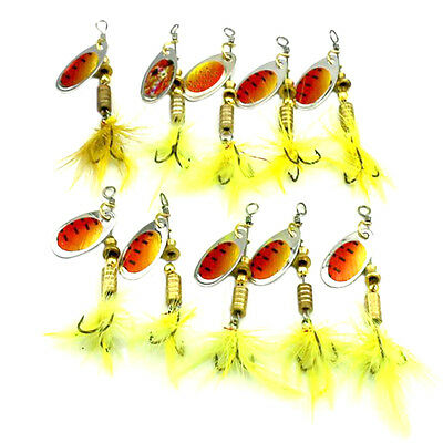 Bulk 10 Minnow Fishing Lures Deep Diving Bass Murray Cod Barra Yellowbelly bream