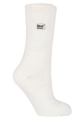 1 Pair Ladies GENUINE Original Heat Holders Socks Size 4-8 uk , 37-42 eur  White