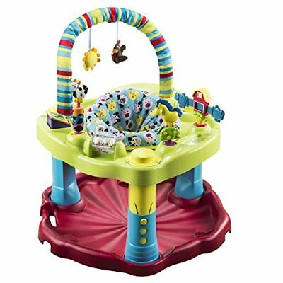 Evenflo Exersaucer Bouncing Barnyard Baby Saucer Bounce & Learn Activity Center