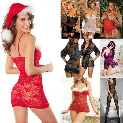Wholesale Hot Women Lace Lingerie Underwear Ladies Sleepwear Babydoll Dress Gift