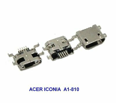 Acer Iconia A1-810 CONNECTEUR CHARGE MICRO USB A SOUDER