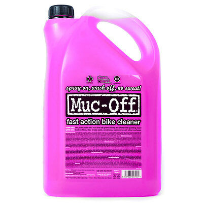 Muc Off Cleaner 5 L 5 Liters  Lubricantes y limpiadores