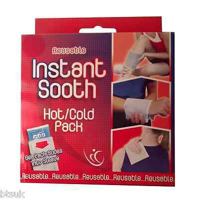 1 Box Of Reusable Hot Cold Gel Ice Pack Pain Relief Injury Compression (CH11)