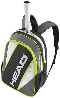 Head Elite Backpack  Black   Anthracite Zaini tennis