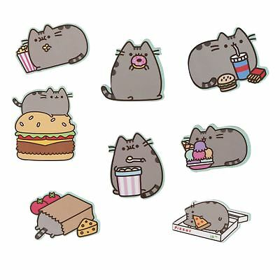 Pusheen The Cat Fridge Magnets Set Of 8 Home Kitchen Gift