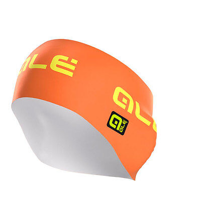 Ale Printed Earband One Size Orange Yellow Fluo Bandeaux