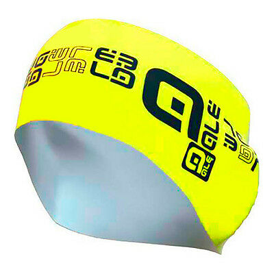 Ale Headband One Size Black Yellow Fluo Bandeaux