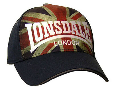 Lonsdale Grasmere One Size Navy Gorras