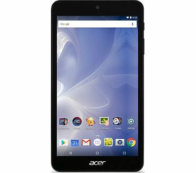 """ACER B1-780 Iconia One 7"""" Tablet 16GB 5-point multitouch screen Wireless Black"""