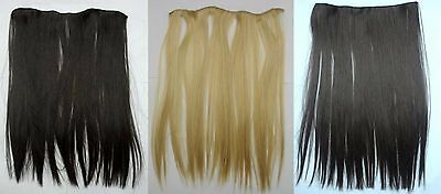 "Pack Of 25 Assorted Clip In Synthetic Hair Extensions, 18"" Long, Wholesale"