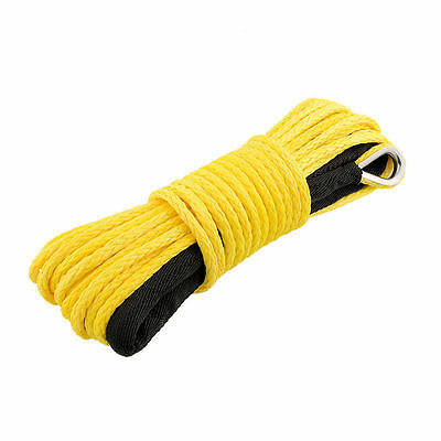8mm X 30m Dyneema SK75 Synthetic Winch Rope Offroad Car Tow Recovery Cable 4x4